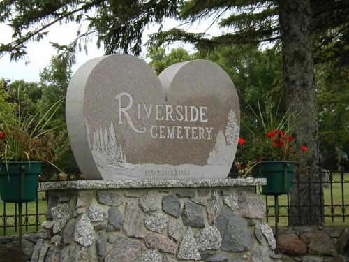 Riverside Cemetery, Blue Earth, MN