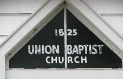 Union Baptist Church Cemetery, Decater Co., Washington Township, Indiana