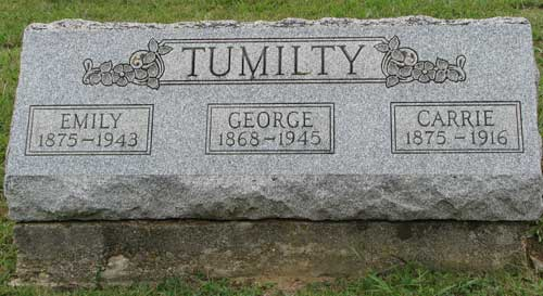 Emily, George, Carrie Tumilty